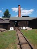Vecchia fonderia, Maleniec, Polonia Fotografia Stock