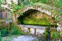 Vecchia fontana Fotografia Stock