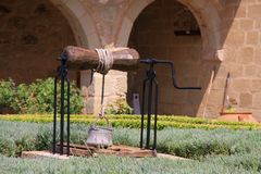 Vecchia fontana Fotografie Stock