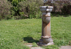 Vecchia fontana di acqua Fotografia Stock