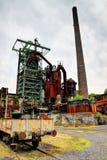 Vecchia, fornace industriale arrugginita Fotografia Stock Libera da Diritti