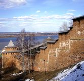 Vecchia fortezza Fotografia Stock