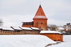 Vecchia fortezza, castello di Kaunas Immagine Stock Libera da Diritti