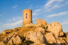 Vecchia fortezza in Crimea Immagine Stock