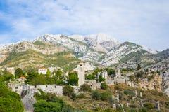 Vecchia fortezza di Antivari Fotografie Stock