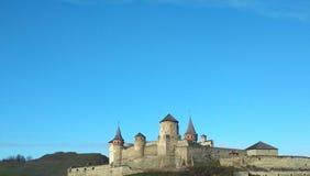 Vecchia fortezza, Kamenets-Podolsky, Ucraina Fotografie Stock Libere da Diritti