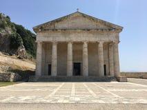 Vecchia Fortezza Korfu royaltyfri foto