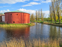Vecchia fortezza a Malmo, Svezia Fotografia Stock Libera da Diritti