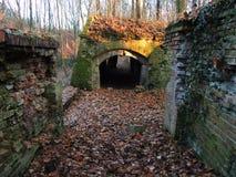Vecchia fortezza prussiana Fotografie Stock