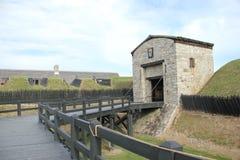 Vecchia fortificazione Fotografia Stock