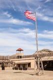 Vecchia fortificazione americana Fotografia Stock Libera da Diritti