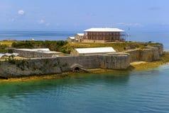 Vecchia fortificazione britannica Immagine Stock Libera da Diritti