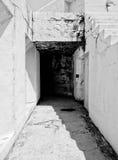 Vecchia fortificazione concreta Fotografie Stock Libere da Diritti