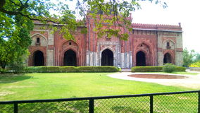 Vecchia fortificazione a Delhi Immagine Stock
