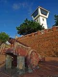 Vecchia fortificazione di Tainan Anping Fotografie Stock