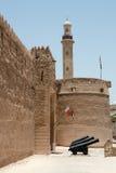 Vecchia fortificazione in Doubai Fotografie Stock Libere da Diritti
