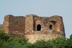 Vecchia fortificazione, Nuova Delhi Fotografie Stock