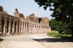 Vecchia fortificazione, Nuova Delhi Fotografia Stock Libera da Diritti