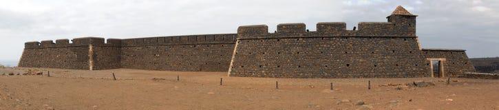 Vecchia fortificazione portoghese Fotografie Stock Libere da Diritti