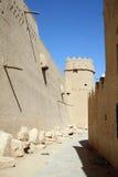 Vecchia fortificazione a Riyadh Fotografie Stock