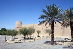 Vecchia fortificazione a Riyadh fotografia stock libera da diritti