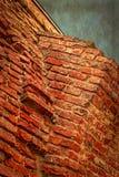 Vecchia foto con il dettaglio della parete 3 della fortezza Immagini Stock