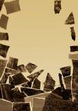 Vecchia foto della rottura Immagini Stock Libere da Diritti