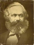 Vecchia foto di Karl Marx Fotografia Stock Libera da Diritti