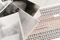 Vecchia fotographia Fotografia Stock