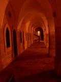 Vecchia galleria della città Fotografia Stock Libera da Diritti