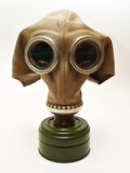 Vecchia gas-mascherina Fotografie Stock