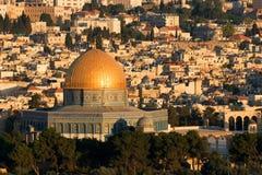 Vecchia Gerusalemme - cupola della roccia Fotografia Stock Libera da Diritti