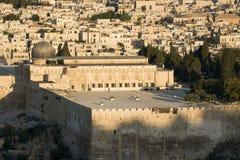 Vecchia Gerusalemme - moschea di Al-Aqsa Fotografia Stock