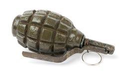 Vecchia granata a mano Immagine Stock