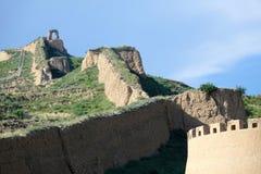 vecchia Grande Muraglia Immagine Stock Libera da Diritti