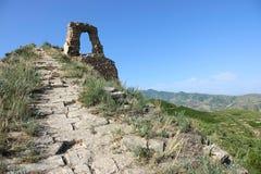 vecchia Grande Muraglia Immagini Stock