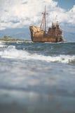 Vecchia grande nave rustica Fotografie Stock Libere da Diritti