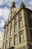 Vecchia grande parte anteriore della costruzione, Monaco di Baviera Fotografia Stock