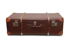 Vecchia grande valigia Fotografia Stock Libera da Diritti