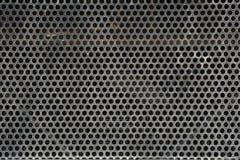 Vecchia griglia del metallo Immagini Stock Libere da Diritti