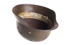 Vecchia guerra mondiale tedesca del casco. Immagine Stock Libera da Diritti