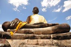 Vecchia immagine di Buddha Immagine Stock