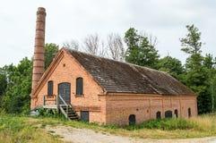 Vecchia industria abbandonata Fotografia Stock Libera da Diritti