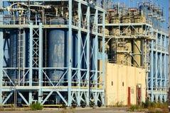 Vecchia industria di gas Immagine Stock