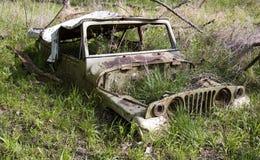 Vecchia jeep Fotografie Stock