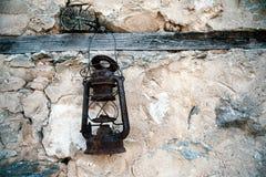 Vecchia lampada Immagini Stock