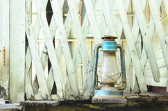 Vecchia lampada Immagine Stock