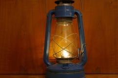 Vecchia lampada fotografia stock