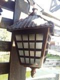 Vecchia lampada del metallo Fotografie Stock Libere da Diritti
