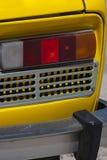 Vecchia lampada dell'automobile Fotografie Stock